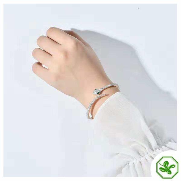 elegant snake bracelet for woman