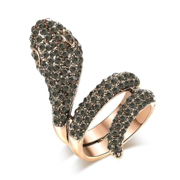 fancy snake ring
