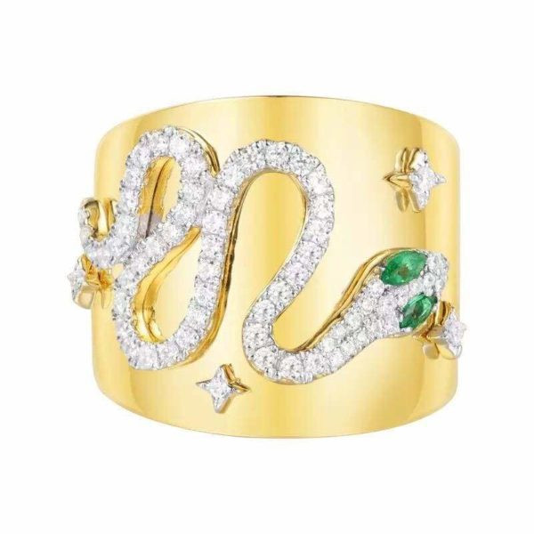 Serpent Ring Gold 1