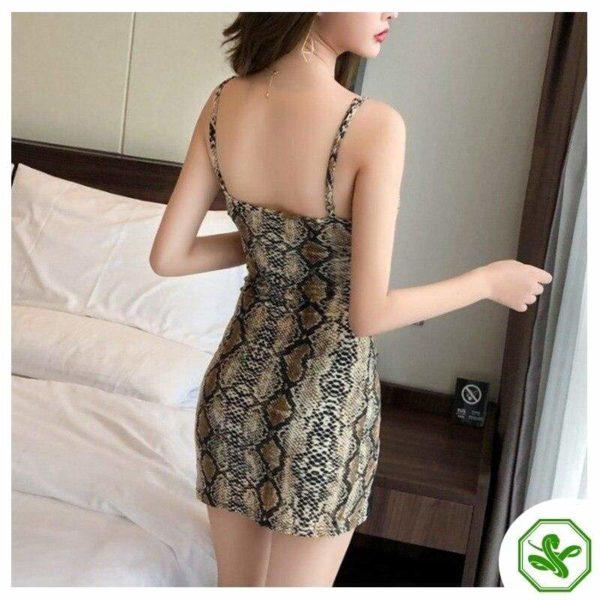 Sexy Snakeskin Dress 3
