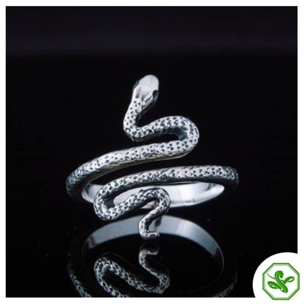 silver-diamond-snake-ring 5