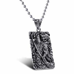 silver pendant for men