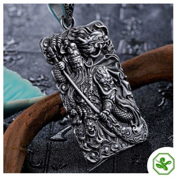silver pendant for man