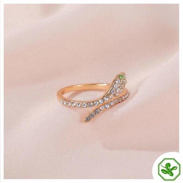 silver-snake-ring-design 7