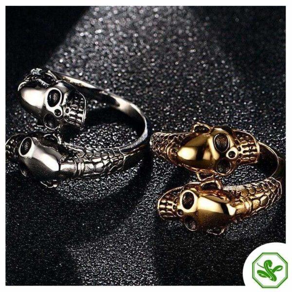 skull-and-snake-ring 4