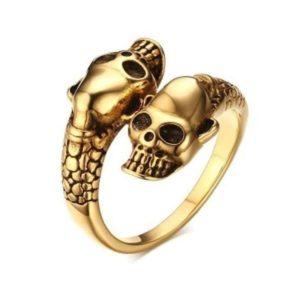 skull-and-snake-ring 1