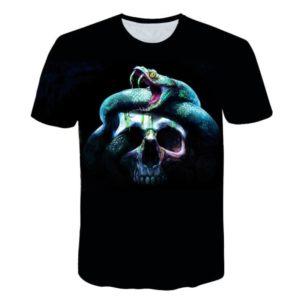 skull snake shirt