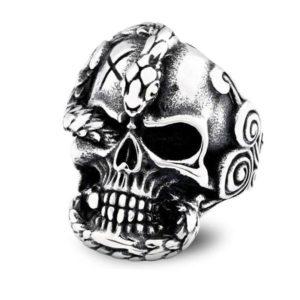 Skull Snake Ring 1