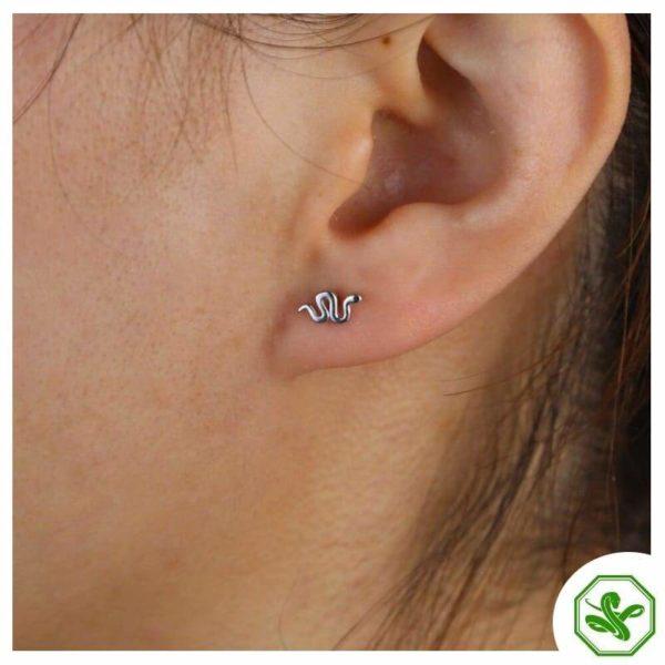 Small Snake Earrings 3