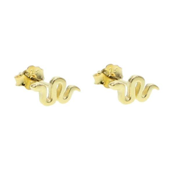Small Snake Earrings 1