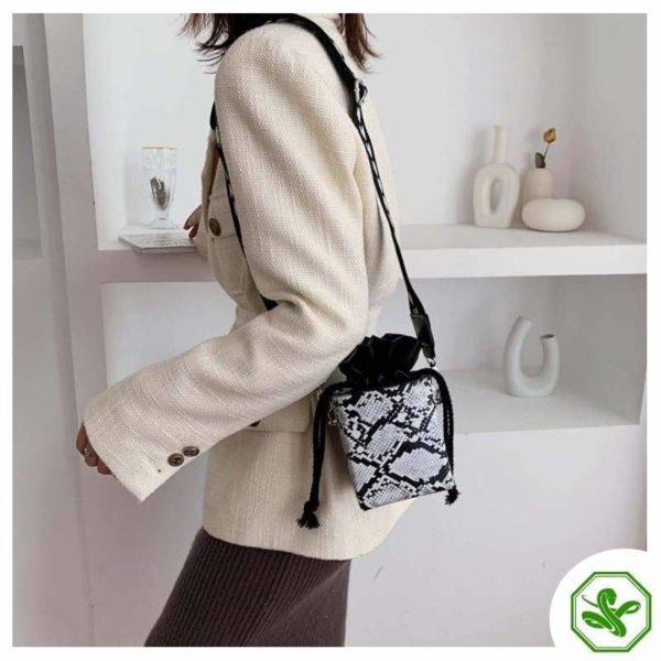 Small Snakeskin Bag 2