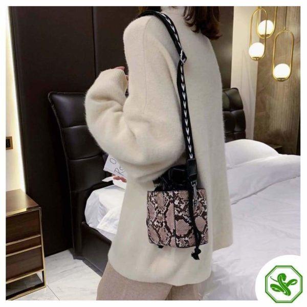 Small Snakeskin Bag 12