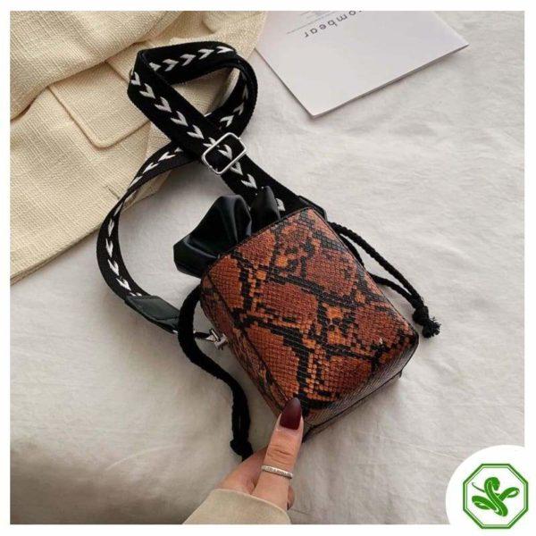 Small Snakeskin Bag 20