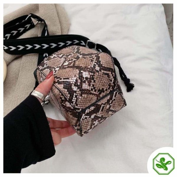 Small Snakeskin Bag 16