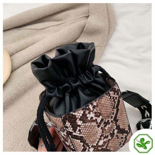 Small Snakeskin Bag 19