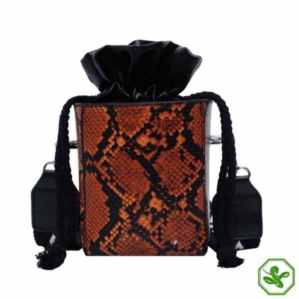 Small Snakeskin Bag 21