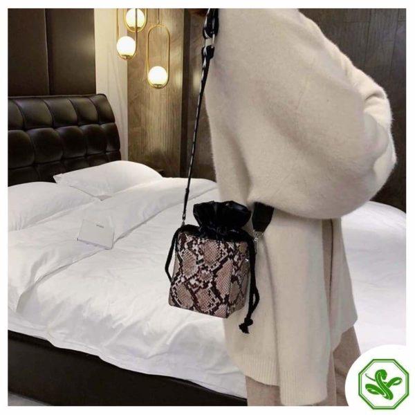 Small Snakeskin Bag 11