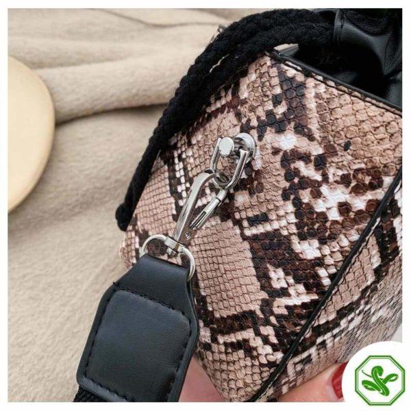 Small Snakeskin Bag 18