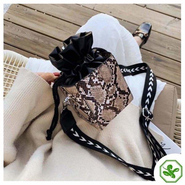 Small Snakeskin Bag 14
