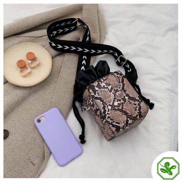 Small Snakeskin Bag 17