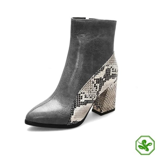 Snake Ankle Boots 8