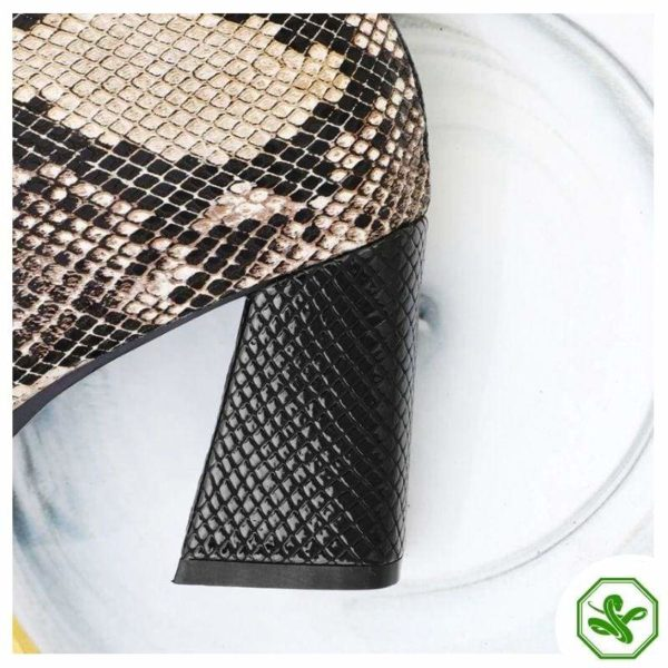 Snake Ankle Boots 6