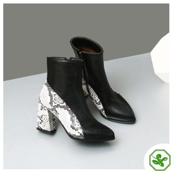 Snake Ankle Boots 3