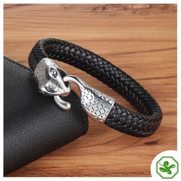 snake bracelet ouroboros for men