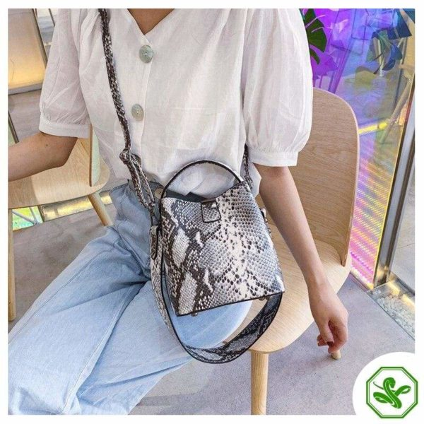 Snake Bucket Bag 3