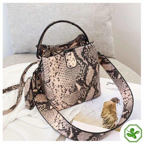 Snake Bucket Bag 7