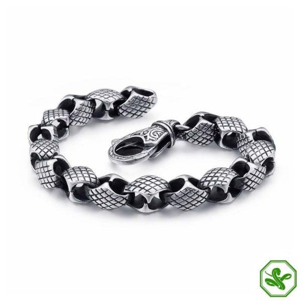 man snake bracelet
