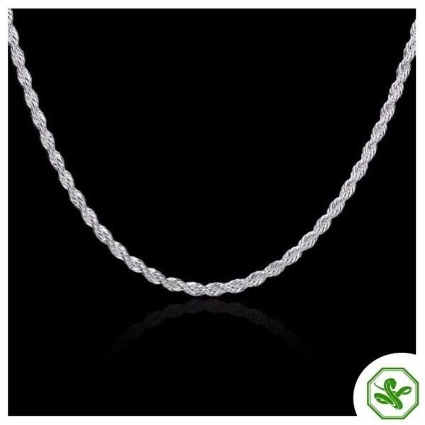 snake chain necklace silver