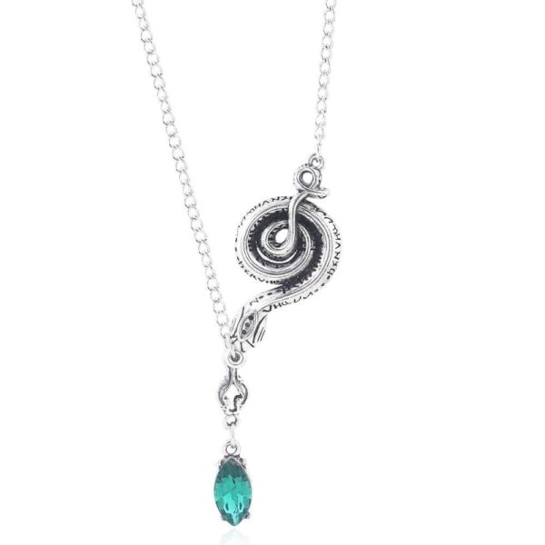 Snake Chain Necklace With Pendant 1