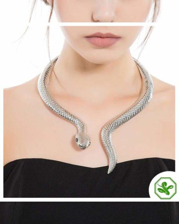 Snake Choker Necklace 5