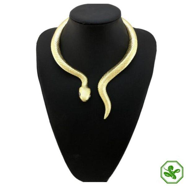 Snake Choker Necklace 3