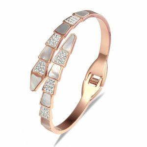 pink snake bracelet enchant