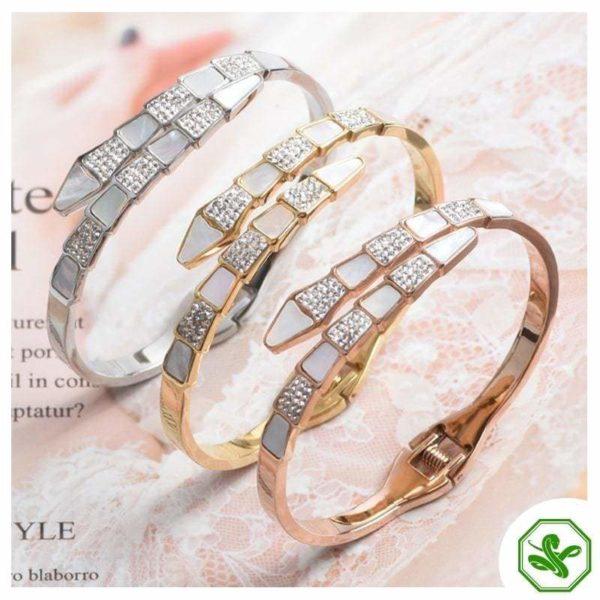 snake bracelets with diamond
