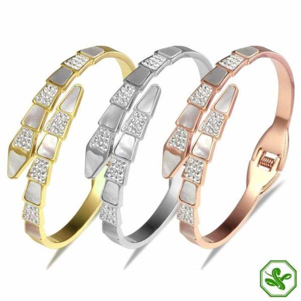 snake bracelets for wedding