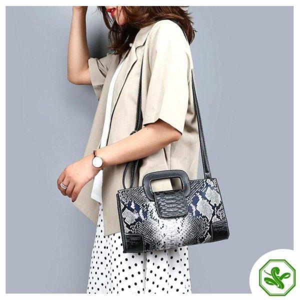 Snake Crossbody Bag 6