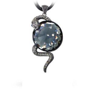 Snake Crystal Necklace 1