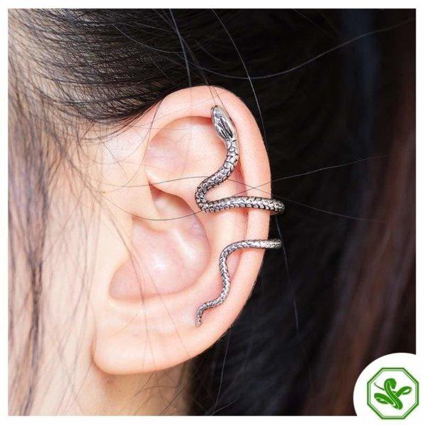 Snake Cuff Earrings 3