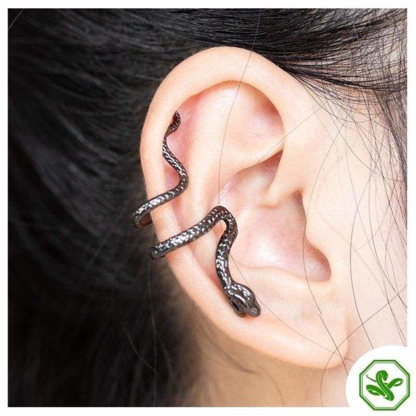 Snake Cuff Earrings 2