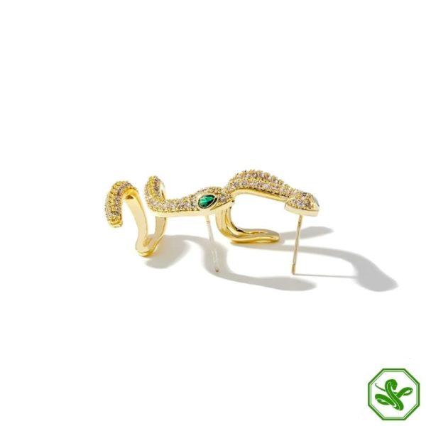 Snake Earrings Studs 4