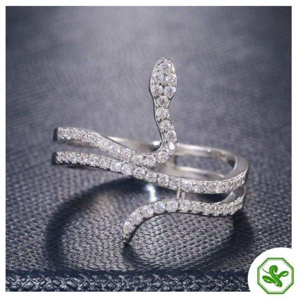 precious snake ring