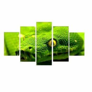 Head Snake Painting