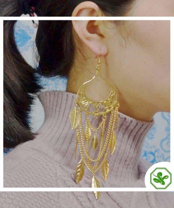 Snake Hoop Earrings 4