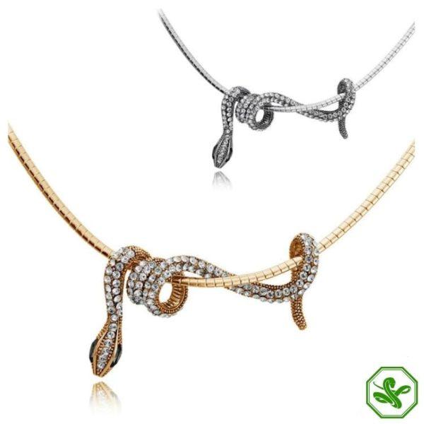 Snake Jewelry Necklace 2