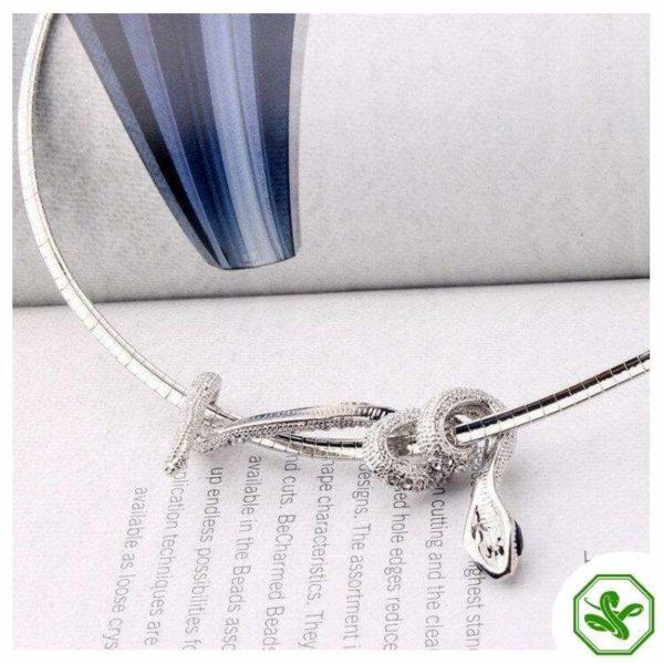 Snake Jewelry Necklace 4