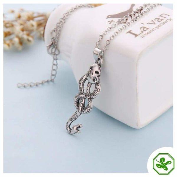 Snake Knot Necklace 2