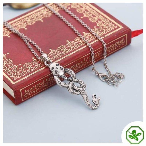 Snake Knot Necklace 3